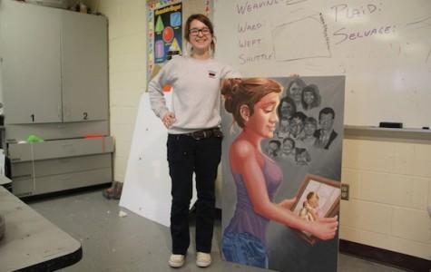 AP Studio Art gains new student