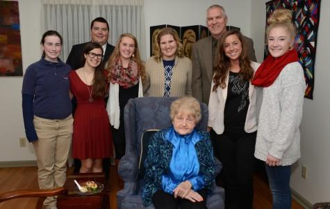 Holocaust survivor continues to break ground