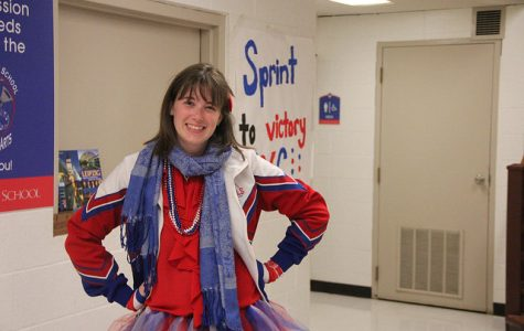 Homecoming Week 2016: Red, White & Blue Friday