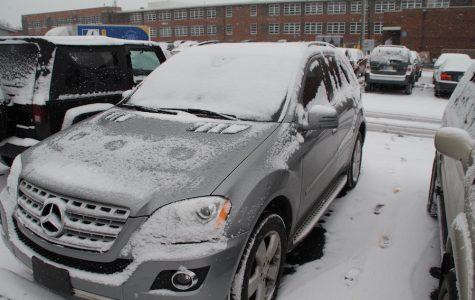 Winter car troubles