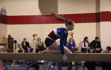 Gymnasts prepare for sectionals