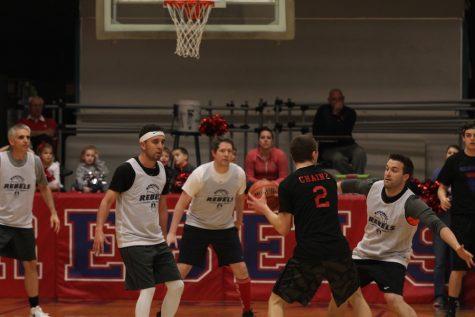 Students vs Staff Basketball Game 2017