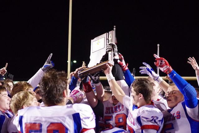 The Rebel football team didn't get to the State Championship, but are champions in their own eyes. They brought Roncalli football back to the forefront after winning the first sectional championship since 2005.