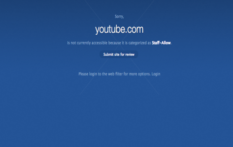 Access denied: Many websites have been blocked for student use this school year. Many students are confused as to why they cannot access websites such as YouTube.