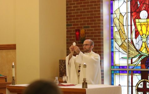 Chaplain in the chapel