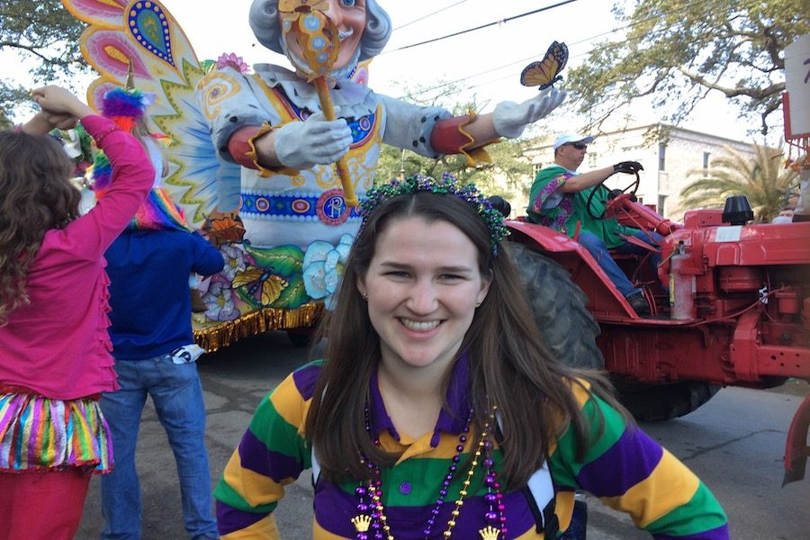 Reuter's Return to Mardi Gras