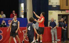 Senior/faculty basketball Game