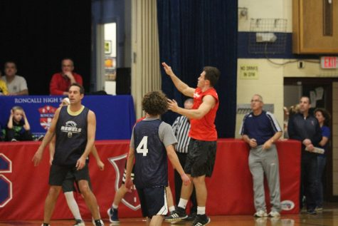 Senior/faculty basketball Game
