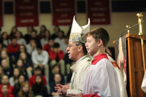 Mass with Archbishop Thompson