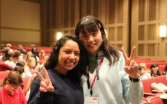 Japanese students visit Roncalli