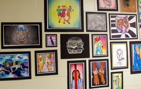 Art show displays student talent