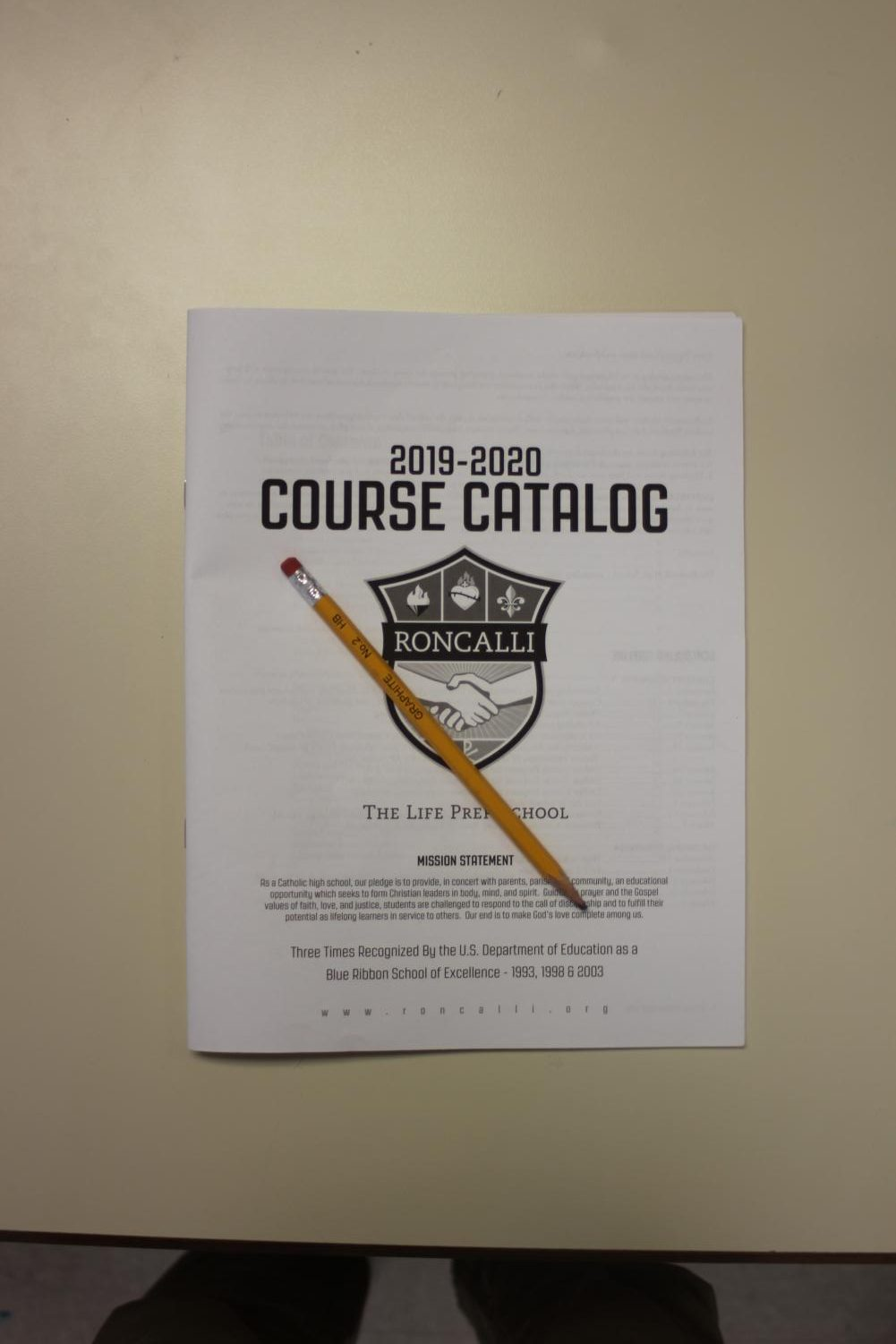New Additions: The course catalog contains information on classes students can take. Courses such as Physical Science and Fiber arts will be available next school year.