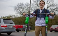 Green scooters take over Indy