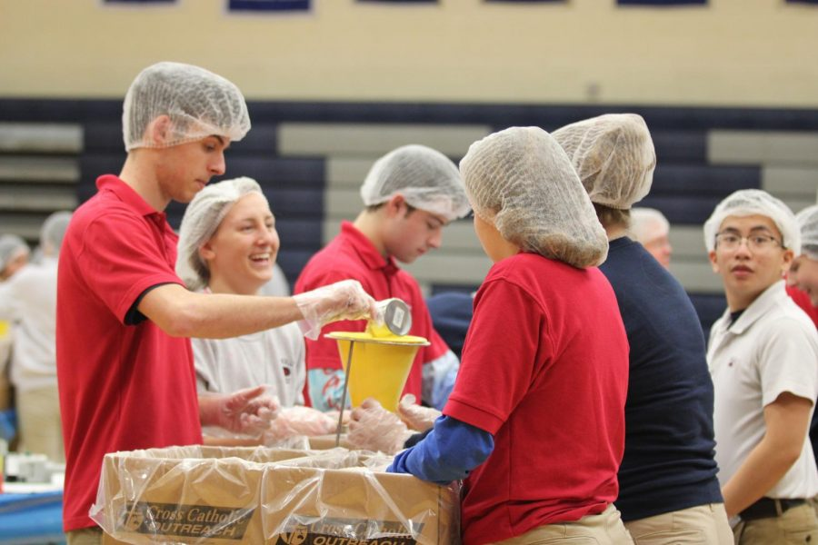 60,324 meals, $15,000, one Rebel family