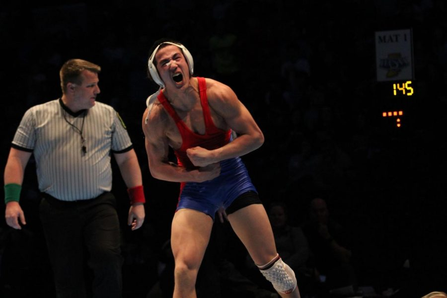 Wrestlers come out of the state tournament on top