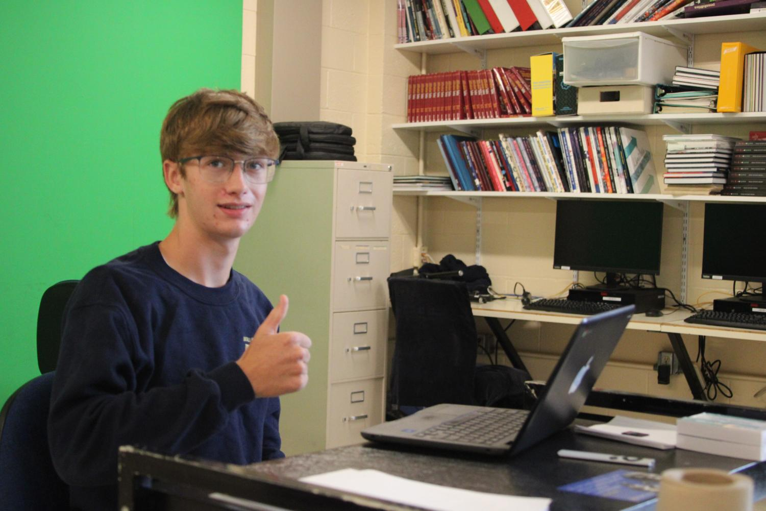 MMM... COMFY: Many students were skeptical about hybrid learning at first, but have quickly become comfortable and satisfied with the situation. Students are definitely not in an ideal situation, but they can accept the positives as they come.