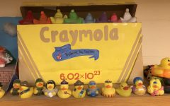 "HOLY MOLE, BATMAN: This pictured mole project is a play on the household arts and crafts brand of CrayolaTM. The moles themselves are the numerous ""crayons"" inside the box."