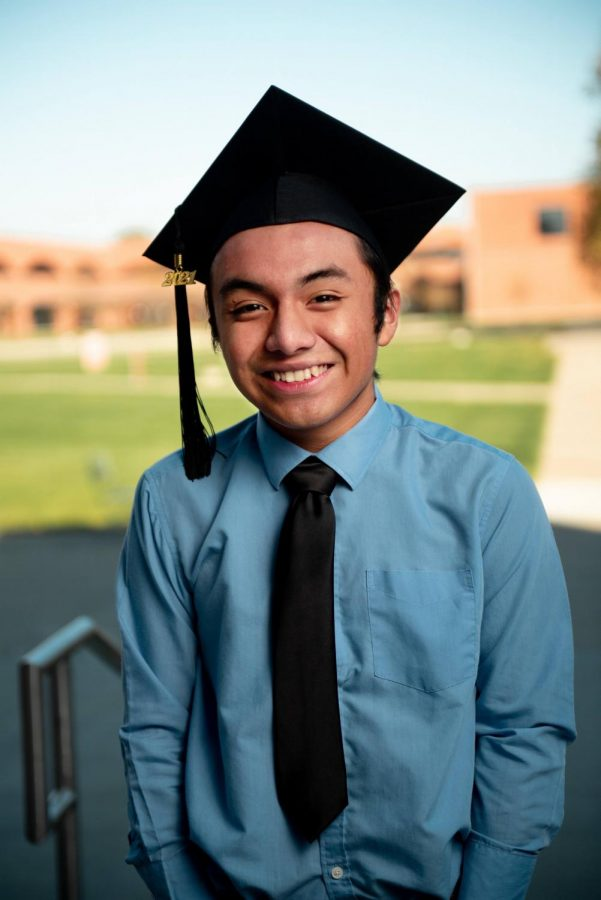 MATRICULATION+EXULTATION%3A+Senior+Coby+Garc%C3%ADa+shines+a+radiant+grin+for+his+senior+photo.+Garc%C3%ADa+plans+to+go+on+to+study+bioethics+and+public+policy+at+Harvard.