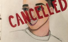 SAYONARA SISTER: This drawing depicts James Charles, a famous internet personality who was