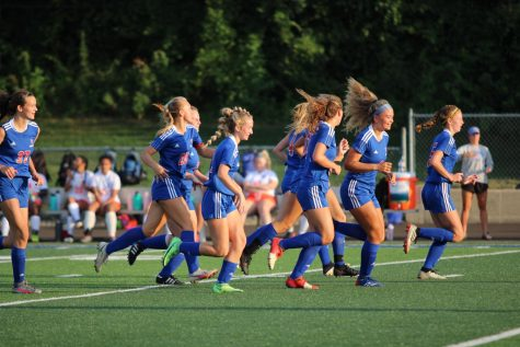 Girls soccer on the rise